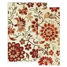 Harper Floral Rug Bed Bath Amp Beyond