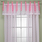 Lots of Dots Pink Valance