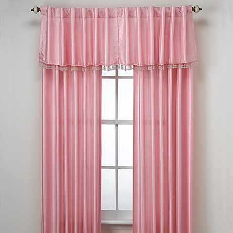Lily Window Panels and Valance