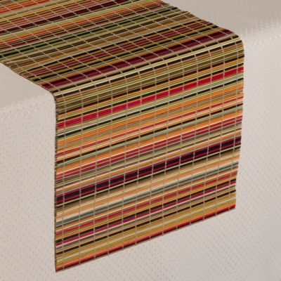 "Bamboo 54"" Stripe Table Runner"