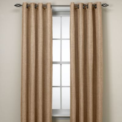 Reina 95-Inch Grommet Window Panel in Sand
