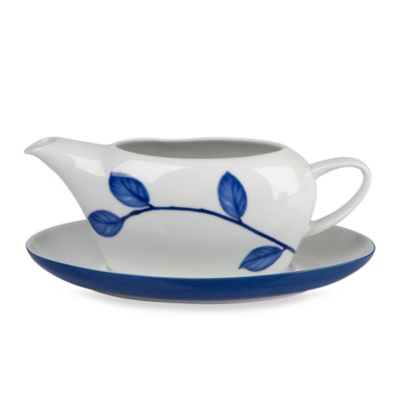 Mikasa® True Blue Gravy Boat with Stand