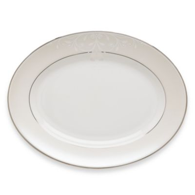 Lenox® Opal Innocence™ Scroll 13-Inch Oval Platter