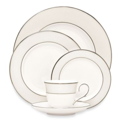 Lenox® Opal Innocence™ Stripe 5-Piece Place Setting