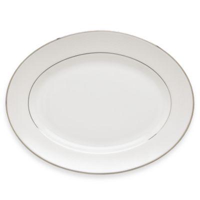 Lenox® Opal Innocence™ Stripe 13-Inch Oval Platter