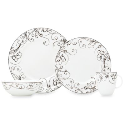 Simply Fine Lenox® Chocolate 4-Piece Place Setting