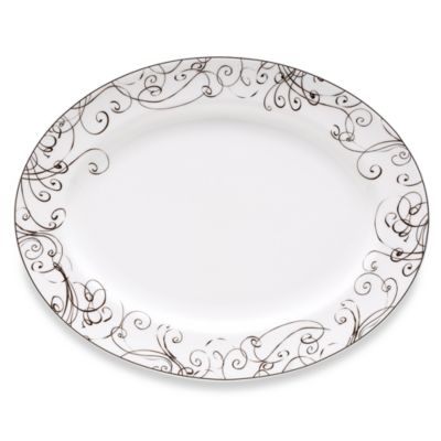 Simply Fine Lenox® Chocolate 16-Inch Oval Platter