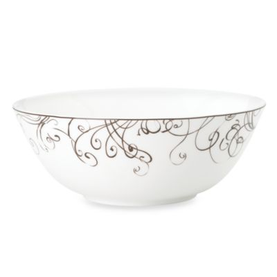 Simply Fine Lenox® Chocolate 9 1/2-Inch Serving Bowl
