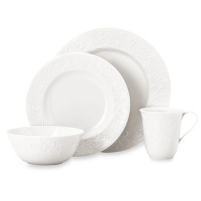 Lenox® Opal Innocence™ Carved 4-Piece Place Setting