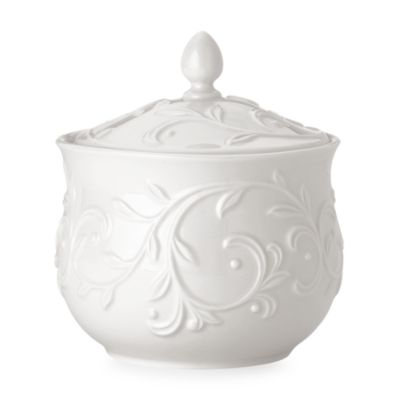Lenox® Opal Innocence™ Carved Sugar Bowl