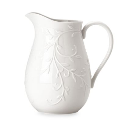 Lenox® Opal Innocence™ Carved 80-Ounce Pitcher