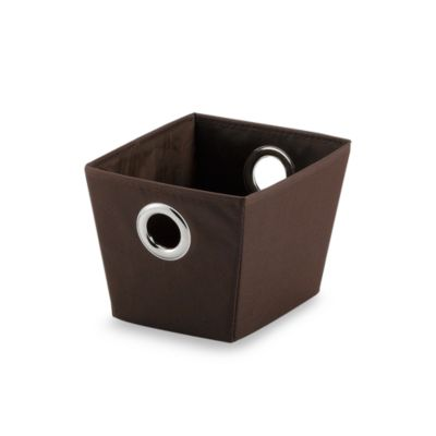 Studio 3B™ Heavyweight Small Grommet Tote in Brown