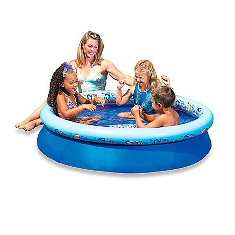 aqua leisure 60 pop up pool buybuy baby. Black Bedroom Furniture Sets. Home Design Ideas