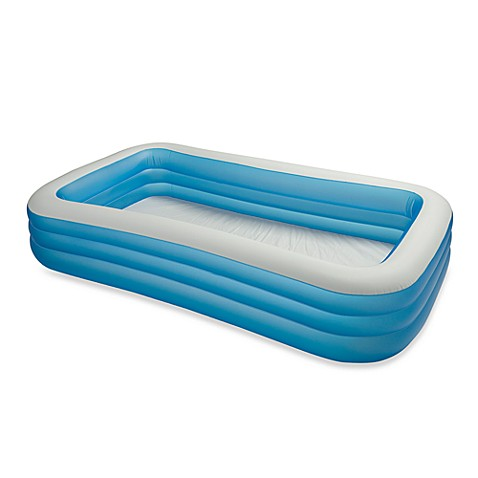how to inflate intex swim center family pool