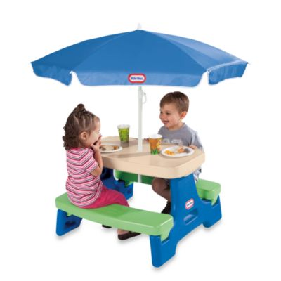 Little Tikes™ Easy Store™ Jr. Play Table with Umbrella