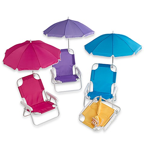 Redmon Baby Beach Chair with Umbrella