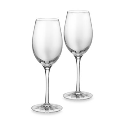 Clearly Waterford® 12-Ounce Wine Glasses (Set of 2)