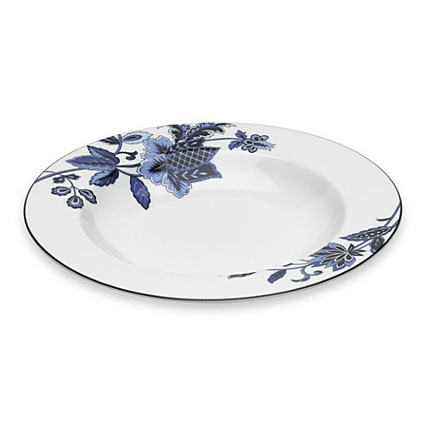 Mikasa® Indigo Bloom 11-Ounce Rim Soup Bowl