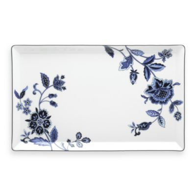 Mikasa® Indigo Bloom 13-Inch Rectangular Platter