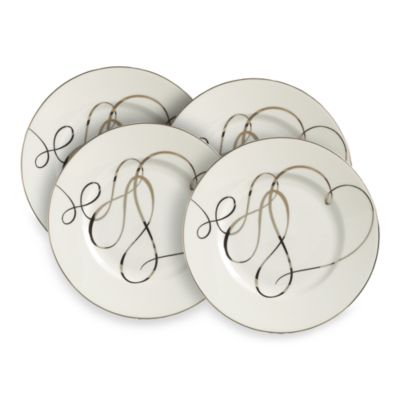 Set of 4 8-Inch Accent Plate