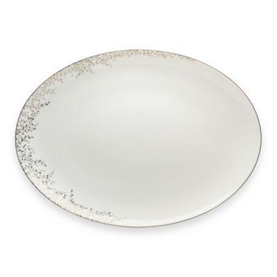 Mikasa® Shimmer Vine 11-Inch Oval Platter
