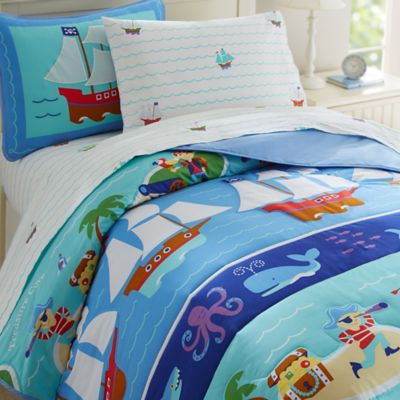 Olive Kids Pirates 3-Piece Full Comforter Set in Blue