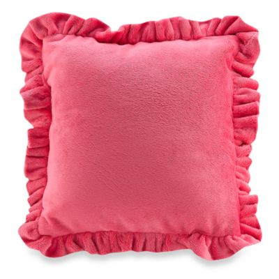 Bananafish® 10-Inch Decorative Pillow in Raspberry Truffle