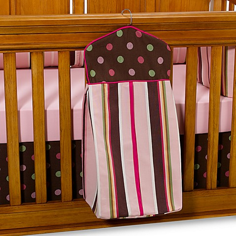 Bananafish® Diaper Stacker in Raspberry Truffle