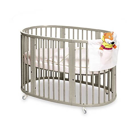 stokke sleepi gray crib and accessories buybuy baby. Black Bedroom Furniture Sets. Home Design Ideas