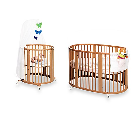 stokke sleepi cherry crib system buybuy baby. Black Bedroom Furniture Sets. Home Design Ideas