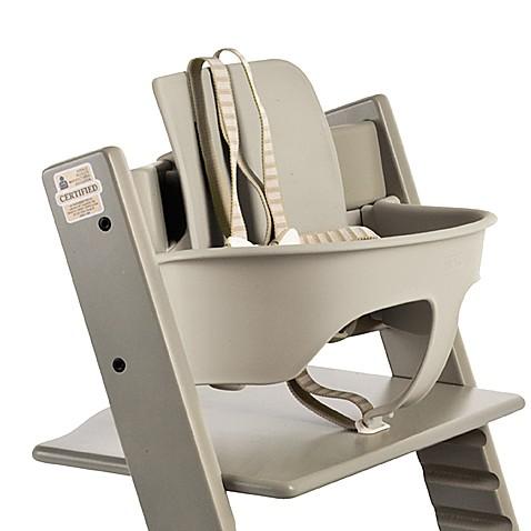 stokke tripp trapp baby set gray buybuy baby. Black Bedroom Furniture Sets. Home Design Ideas