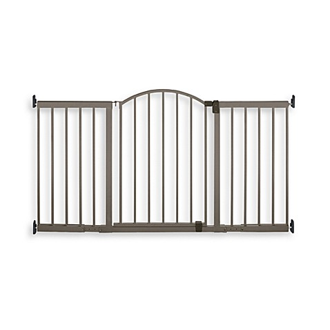Summer Infant Stylish n' Secure Extra Tall 6' Metal Expansion Gate
