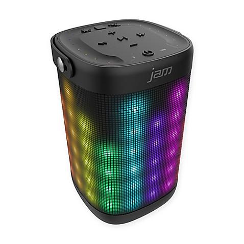Jam Trance Max Wireless Bluetooth Light Show Speaker In Black Bed Bath Beyond