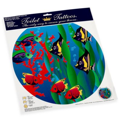 Toilet Tattoos® Under the Sea Round Decorative Applique