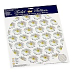 Toilet Tattoos® Daisies On Air Round Decorative Applique