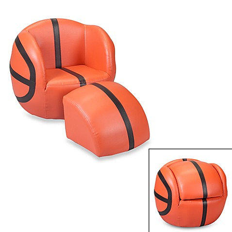 Gift Mark Basketball Chair Amp Ottoman Set Bed Bath Amp Beyond