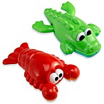 ALEX® Lobster and Crocodile Bathtub Toys