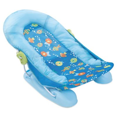 Summer Infant Large Comfort Baby Bath Tub in Blue