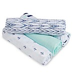 aden® by aden + anais® Indigo Trail 4-Pack Multicolor Classic Muslin Swaddle Blankets