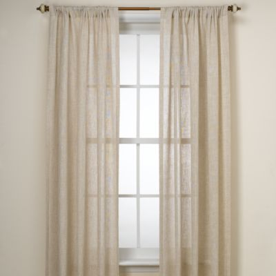B. Smith Barbados Natural Window Panel - 108-Inch