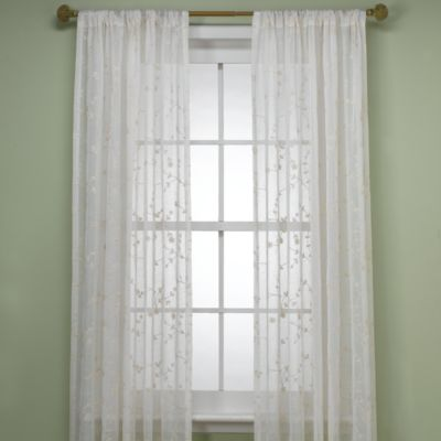 Ivory Window Treatments