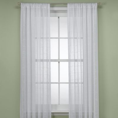 "B. Smith Aruba White 108"" Window Panel"