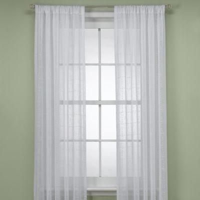 "B. Smith Aruba White 108"" Window Panel"
