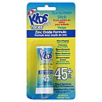 Kids Zinc Oxide .70-Ounce Sunscreen Stick SPF 45+