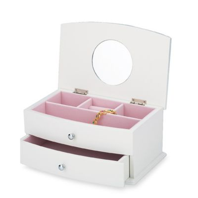Reed and Barton Julia Jewelry Box White Bed Bath Beyond