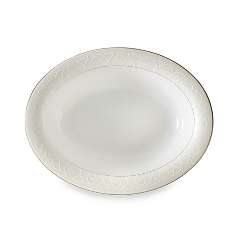 Waterford® Ballet Icing Pearl™ 15-Inch Oval Platter