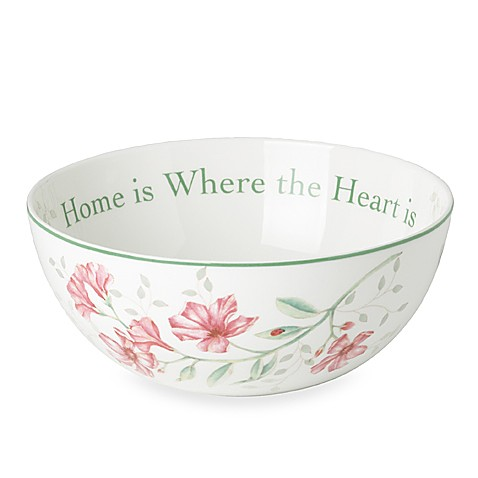 Lenox® Butterfly Meadow® Sentiment Bowl
