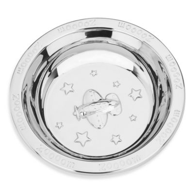 Reed & Barton® Zoom Zoom Stainless Steel Baby Bowl