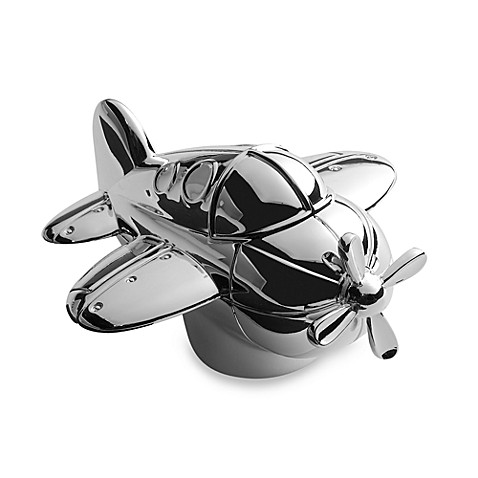Zoom Zoom Silverplate Musical Airplane by Reed & Barton®  Luxury