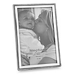 Reed & Barton®  Baby Bead 4-Inch x 6-Inch Pewter Photo Frame